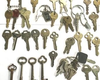 Pile of Antique Keys