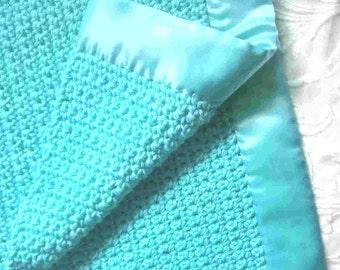 AquaMarine--Baby Blanket