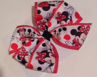 My Minnie Bow by Cheryl's Bowtique / 2015 Fairy Tale Collection, Disney, Mouse, Mickey, Cruise