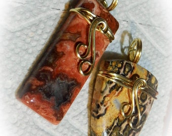 Wire Wrapped Stone Cabochon Tutorial