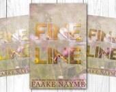 "Premade Digital Book eBook Cover Design ""Fine Line"" Fiction Novel Young New Adult YA Romance Literary Chick Lit"