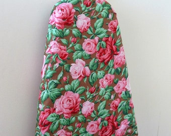 Ironing Board Cover - pretty pink roses