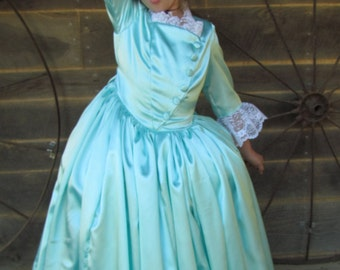 Modest Quality Historical Costume Schuyler Sisters Hamilton -Eliza- Child Sizes up to 14