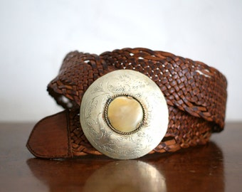 Handcrafted Leather Belt.