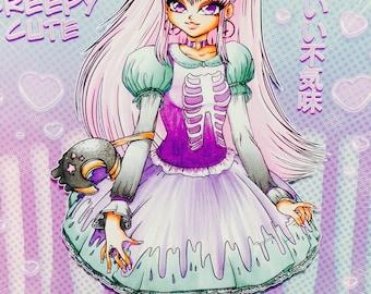 SERIES 2 - Lolita Fashion - Creepy Cute Lolita - Poster Print