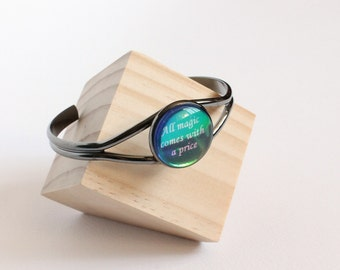 All magic comes with a price cuff bracelet (OUAT)