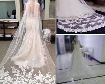 Rhinestone Wedding Veil, Pearl Wedding Veil, Beaded Wedding Veil, Rhinestone Bridal Veil, Pearl Bridal Veil, Beaded Bridal Veil