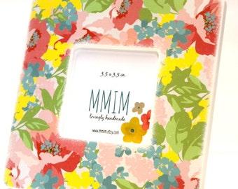 MOTHERS DAY SALE Instagram Frame, Flower Rush Picture Frame, Photo Frame, Picture Frames,  Tabletop Frame, Instagram, Bold, Bright, modern
