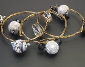 Set of 3 Wire Wrapped Bangles