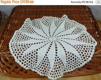 ON SALE 20% OFF Vintage Lace Doily-set of two