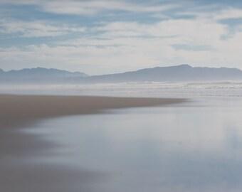Oregon Coast ||| Muted Minimalist Beach Art | Ocean Photography | Soothing Bedroom Wall Art