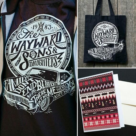 Supernatural Gift Set Supernatural Shirt By