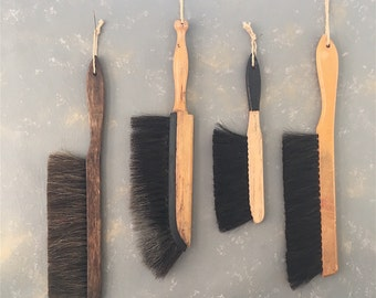 Vintage Clothing Brushes, Instant Collection, Horsehair
