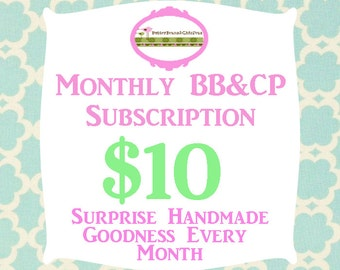 Surprise Mail - Monthly BB&CP Subscription