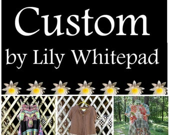 RESERVED FOR MONA Second installment: funky bohemian tunics and sweater, by Lily Whitepad