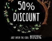 50% Discount until january 31st!