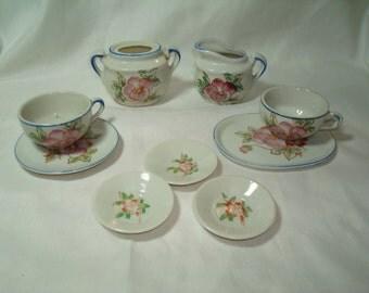 1960s Dolls Porcelain Tea Party Set.