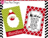 Christmas Personalized Monogrammed Custom Garden Flag Design Your Own- Stand Included