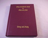 Army and Navy Song and Service Book 1942