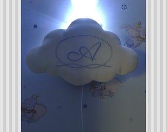 Cloud Lamp/Baby BreastFeeding Cloud Lamp/Baby Girl Nursery Lamp /Night Light/ Baby Lamp/Shower Gifts/ Baby Girl/ Nursery Light/New Baby Lamp