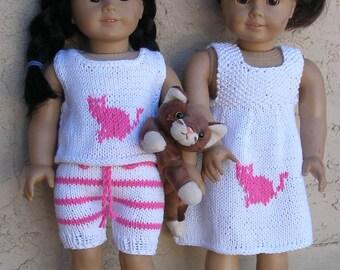Love my Cat Dolls Knitting Pattern