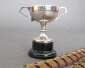 Vintage Small Trophy from England - Silver plate EPNS Loving Cup - Vintage English Silver Trophy - Sporting Trophy
