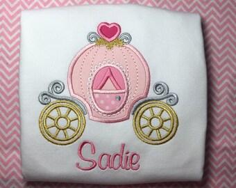 Monogrammed Ruffle Shirt with Princess...Free Monogram