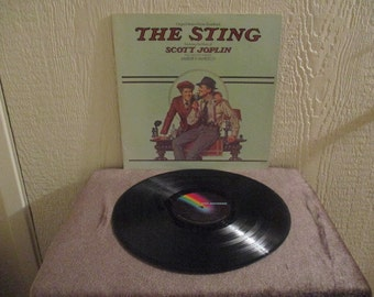 The Sting record - Motion Picture Sound Track  - Vintage album in Near Mint Minus Condition