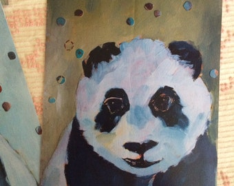 Little Panda : Art Print