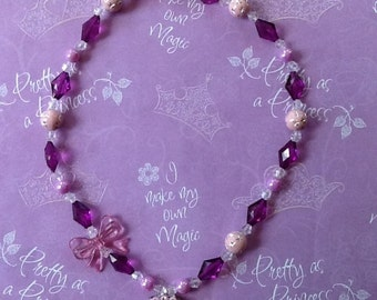 Rapunzel Tangled Stretch Necklace