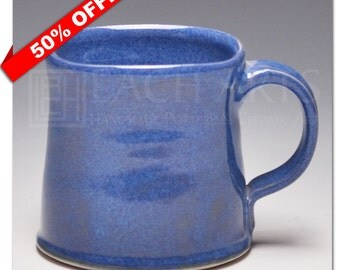 "50% OFF - ""Indigo Float"" (Handmade Mug)"