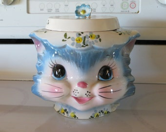 Lefton Miss Priss Kitten Cookie Jar