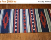 SALE 65% OFF ends 02/16 Vintage 1960s South West  Kilim Rug - Kilim Rug  - Large Vintage Kilim Rug  - HD00040
