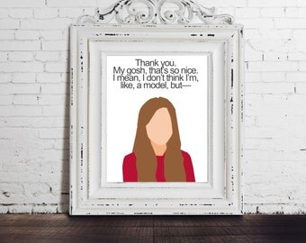 Marnie Michaels - Girls HBO, DIGITAL DOWNLOAD, Lena Dunham, Marnie Quote, funny poster, tv quote, wall decor, tv sitcom, television show art