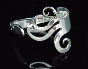 Antique Silver Jewelry Fork Bracelet in Fancy Design