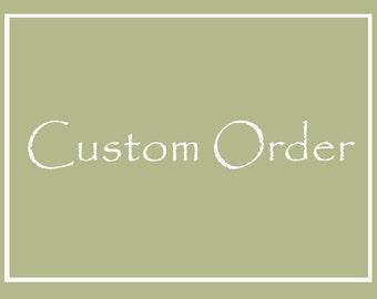 Custom life sized Barn Owl for Christena - 50% deposit