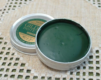 Verdigris Green Wax Paste Gilders Paste® 1.5-ounce Сanister Paint
