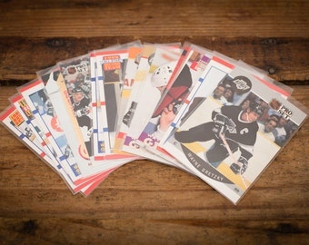 Wayne Gretzky Lot of 15 Hockey Cards, Los Angeles Kings, Vintage 90s