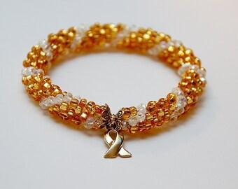 Hunter's Medulloblastoma Cancer Journey Bracelet