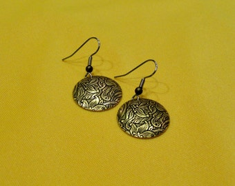 Simply super gold earrings (Style #351)