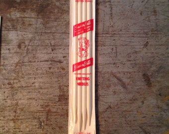 Susan Bates Luxite Double Pointed Knitting Needles Whisper Smooth Size 11 10 inch