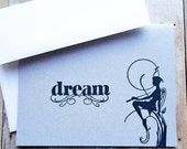 Fairy Note Cards Pixie Sprite Silhouette Faerie Folklore Mythology