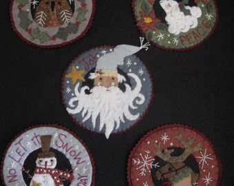 Inside A Snowflake Ornament E-PATTERN Classic Collection by cheswickcompany