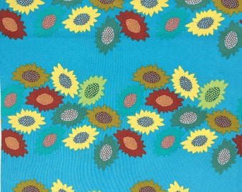 Anna Maria Horner Garden Party Receiving Line turquoise Free Spirit fabric FQ or more
