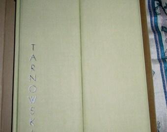 Modern Allegories Book by Glen Tarnowski plus artists autographed note and hand sketch