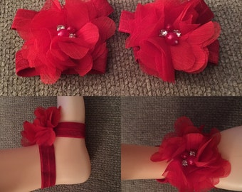 Red Baby Sandals