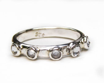 Lab diamonds ring ,engagement ring, stacking ring, gemstone ring, Birthday gift, girl's ring ,cocktail ring,Birthstone ring, gift for her
