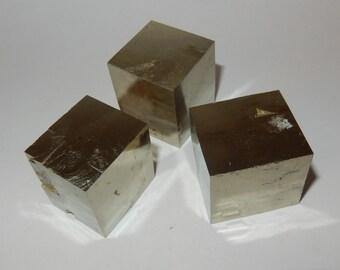 Pyrite Fools Gold Natural Cube