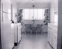 In The 1950s Your KITCHEN May Have LOOKED LIKE This Photo Appliances with Chrome Table and Vinyl Chairs