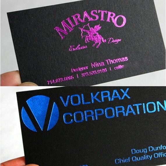 200 business cards black 14pt matte stock by printforbrands for 200 business cards